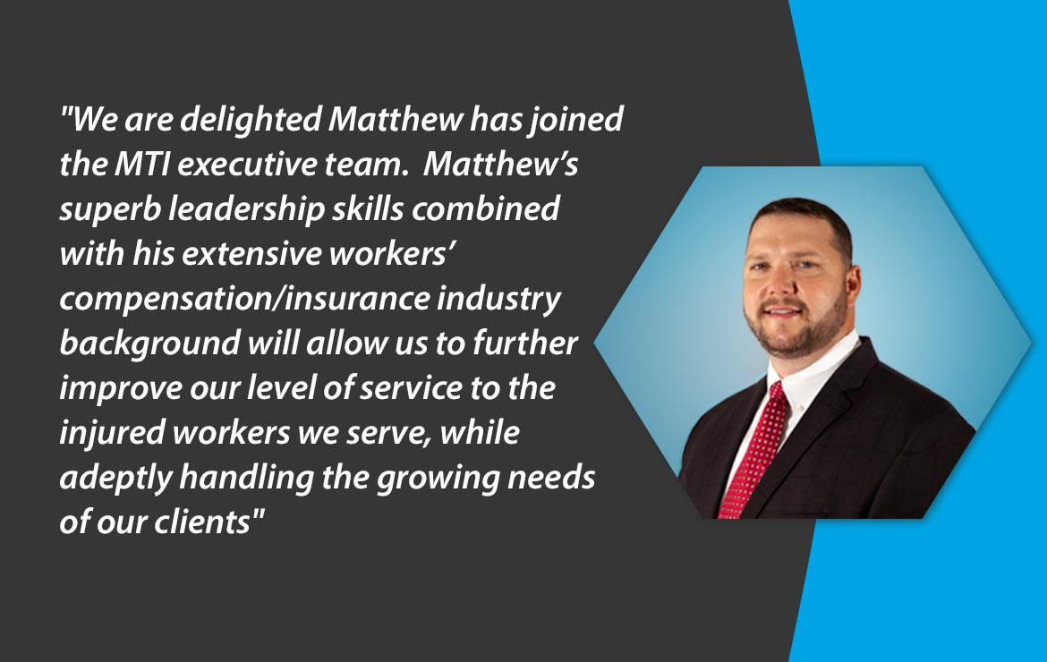 MTI America Appoints Matthew Landon as Chief Strategy Officer