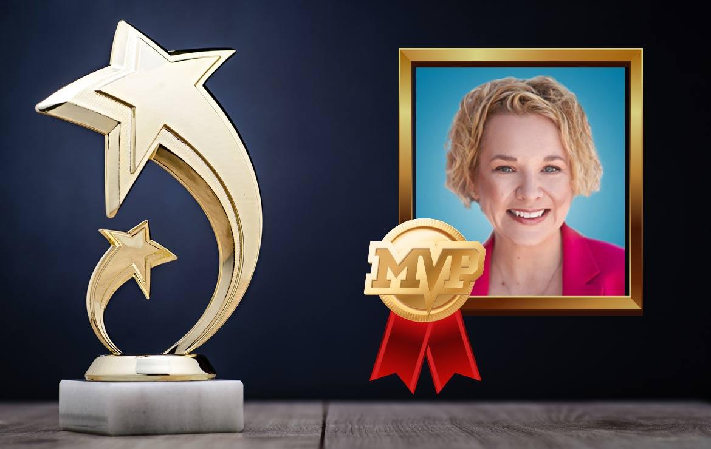 Cheryl Stevens Earns MVP Award