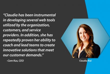 MTI's strategic  transition of Claudia Rial to Vice President of Product Development