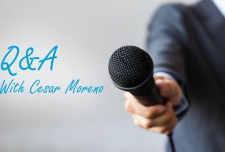 Transportation Q&A with Cesar Moreno, Manager of Transportation